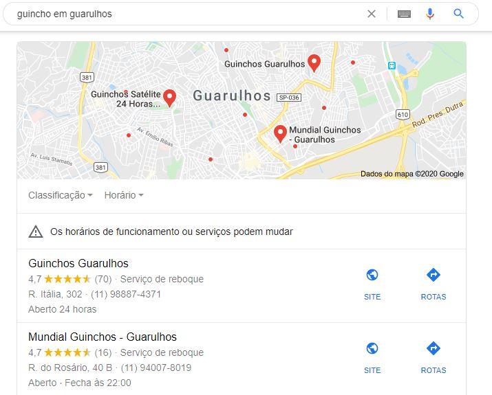 Meu negocio Google